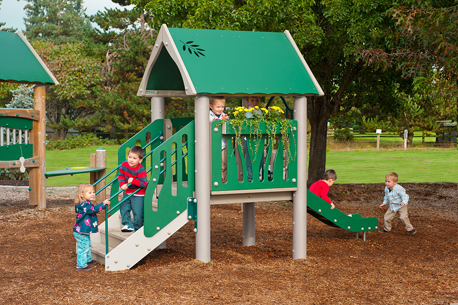 Tot Town Play Structure