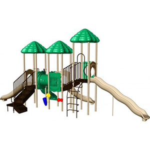 Rainbow Lake Playground Structure - Image That Play Systems